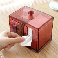 Акриловый контейнер для хранения мелочей Multi-Functional Storage Box QFY-3125, цвет бордовый (2)