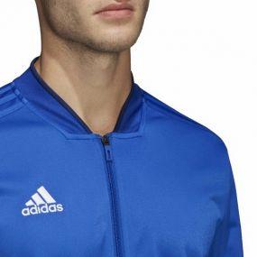 Кофта полиэстеровая adidas Condivo 18 синяя