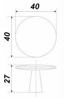Мебельная ручка TOBBY RC035BSN.4