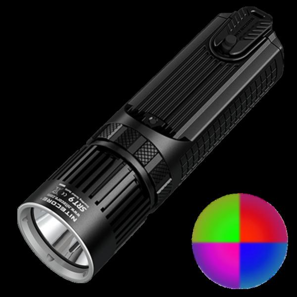 Многофункциональный тактический фонарь Nitecore SRT9