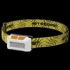 Светодиодный налобный фонарь Nitecore NU10 Белый