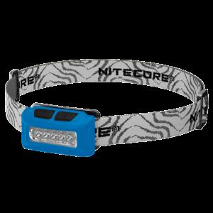 Светодиодный налобный фонарь Nitecore NU10 Синий