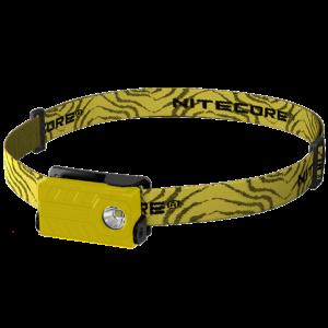 Светодиодный налобный фонарь Nitecore NU20 Желтый