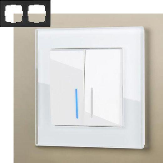 Рамка на 2 поста Werkel WL01-Frame-02 Белый