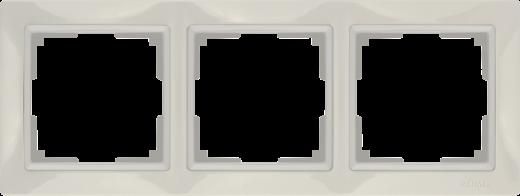Рамка на 3 поста Werkel WL03-Frame-03 Basic слоновая кость