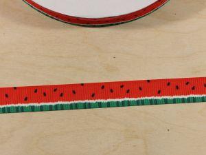 `Лента репсовая с рисунком, ширина 22 мм, Арт. Р-ЛР5859