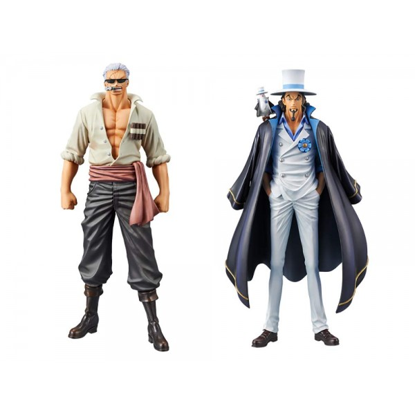 Фигурки One Piece - Smoker & Rob Lucci