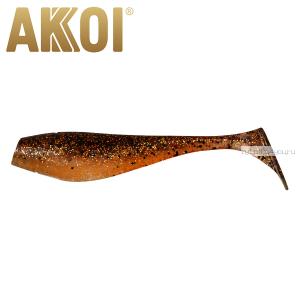 Мягкая приманка Akkoi Original Puffy 4,5'' 115 мм / 11 гр / упаковка 4 шт / цвет: OR03