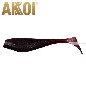 Мягкая приманка Akkoi Original Puffy 4,5'' 115 мм / 11 гр / упаковка 4 шт / цвет: OR12