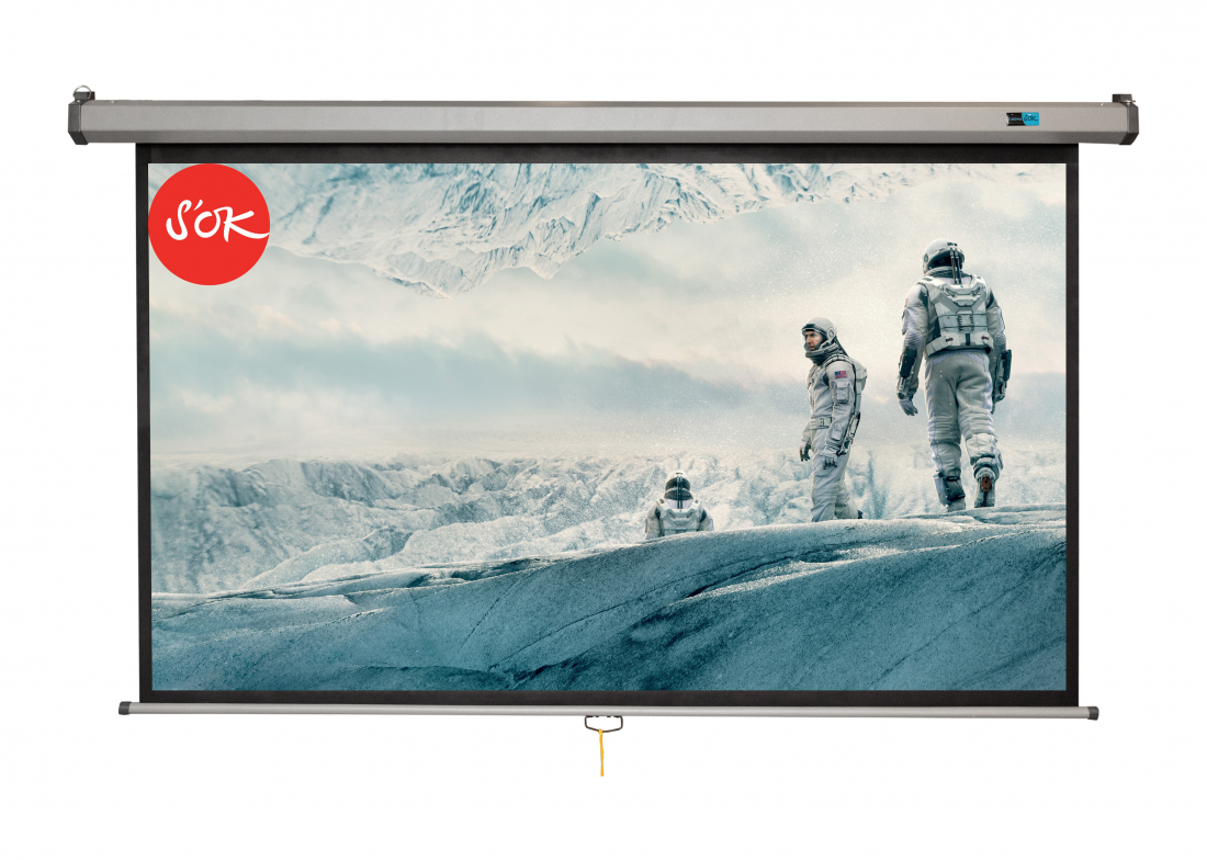 Экран S'OK SCPSW-186x104GR