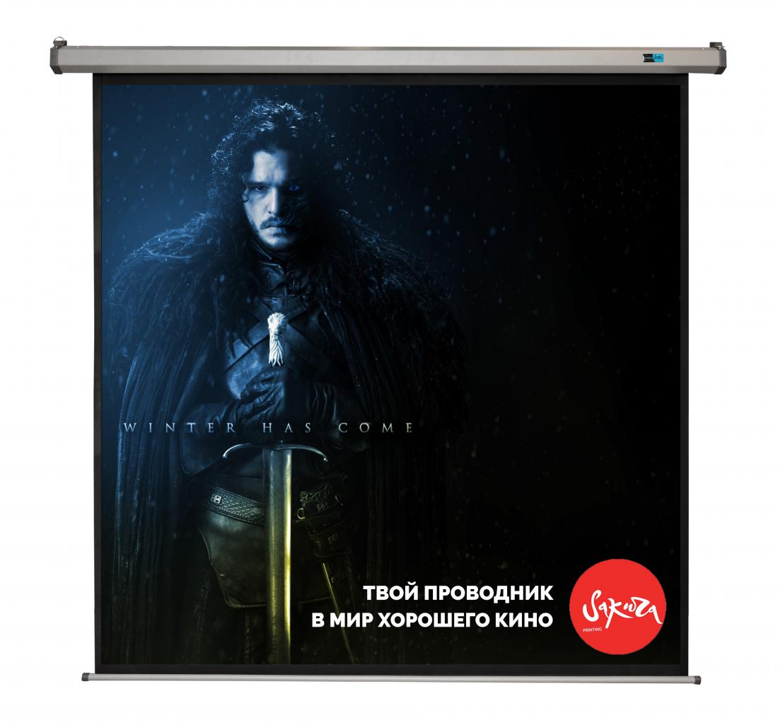 Экран S'OK SCPSM-300X300FG-GR