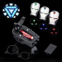 Задний велосипедный фонарь с лазерной дорожкой Железный Человек (Laser Tail Light) (6)