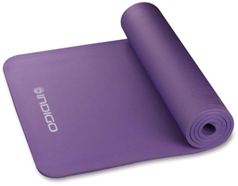 Коврик для йоги и фитнеса INDIGO NBR IN104 173*61*1.0 см