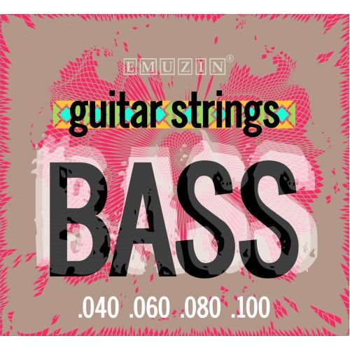 EMUZIN 4S40-100 (040-100) Струны для бас-гитары (4 стр.)