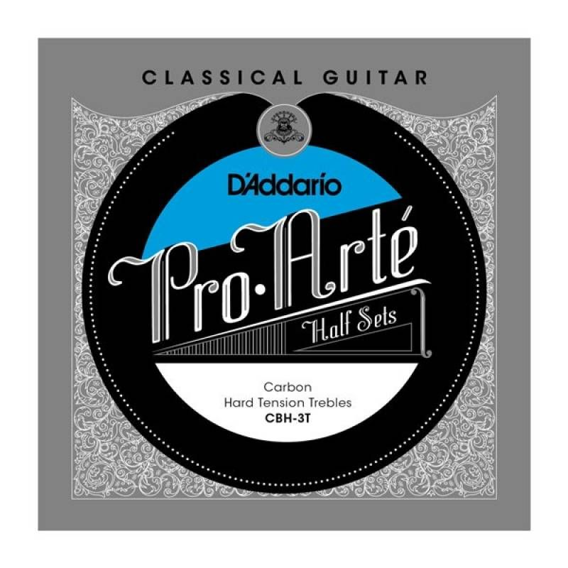 D'ADDARIO CBH-3T Струны для классич. гитары (3 стр.)
