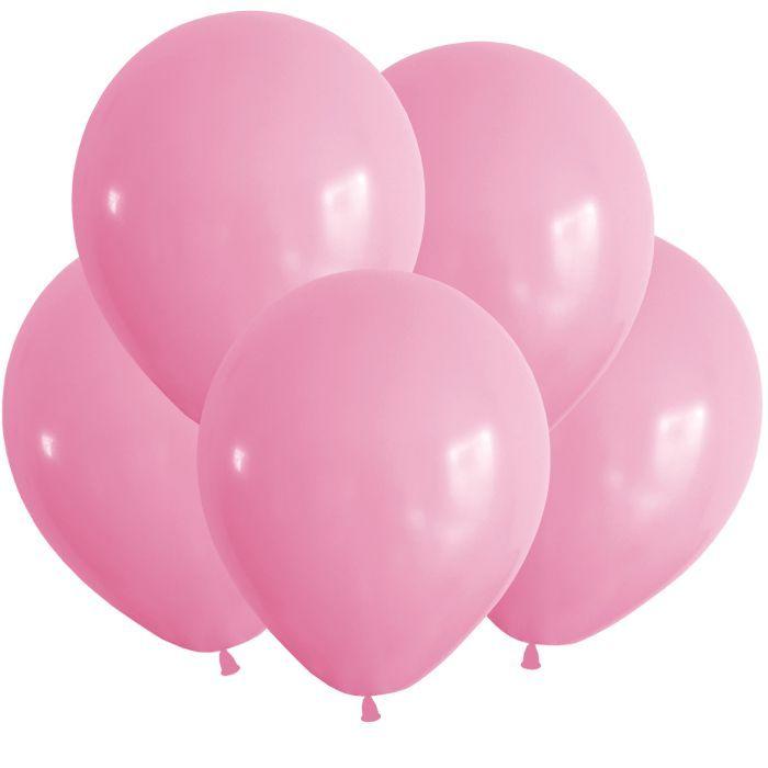 """Шарики пастель розовые  12"""""""
