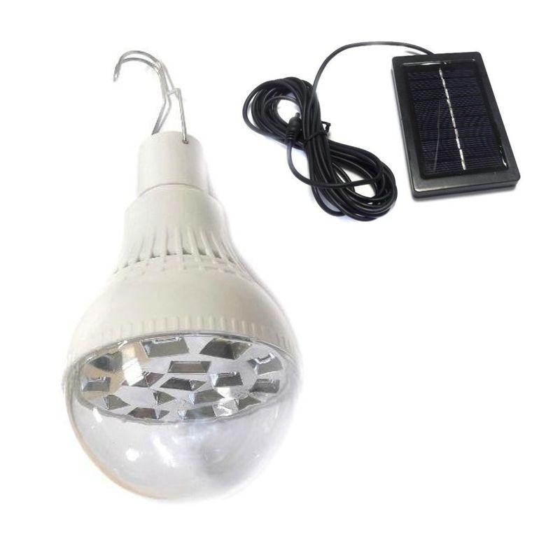 Подвесной Светодиодный Фонарь-Лампа С Солнечной Батареей 16 Led Bulb XS-3859