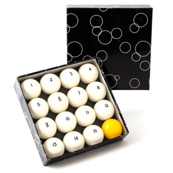 Комплект шаров 60,3 мм Classic Standard желтый биток, артикул 70.056.60.0