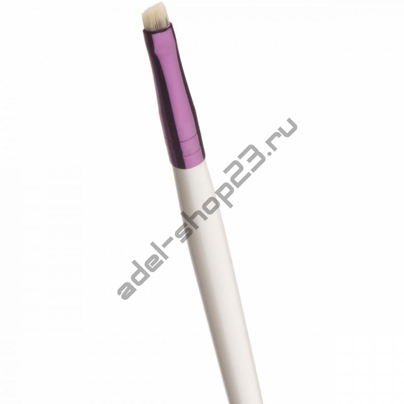 Manly PRO - Кисть плоская скошенная для деталей прорисовки бровей К48