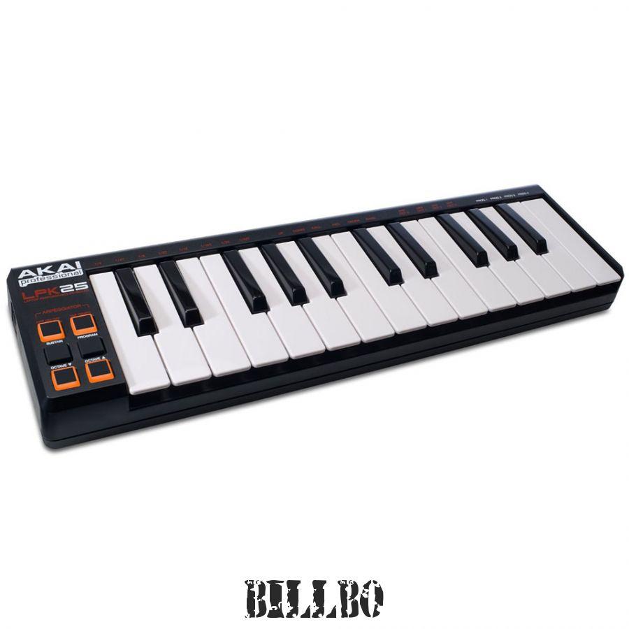 MIDI-клавиатура 25 клавиш AKAI LPK25