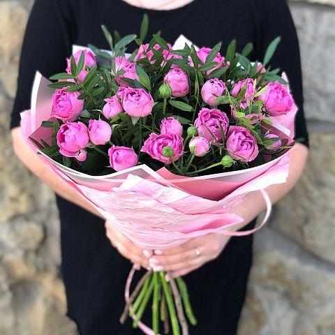 """Букет из пионовидных роз """"На стиле"""""""