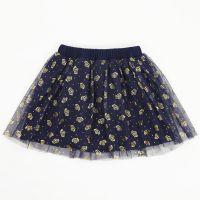 Фатиновая юбка для девочек 2-5 лет Bonito с коронами