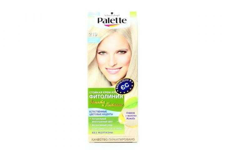 Краска д/волос PALETTE Фитолиния №219 Холодный Блондин