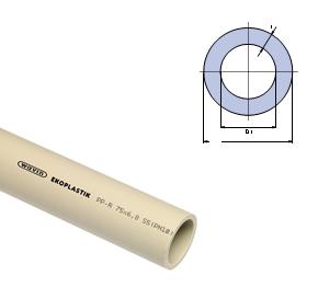 Труба Ekoplastik PN 10  125х11,4