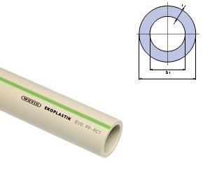 Труба Ekoplastik PP-RCT EVO S 4 / SDR 9 / PN 22 110х12,3