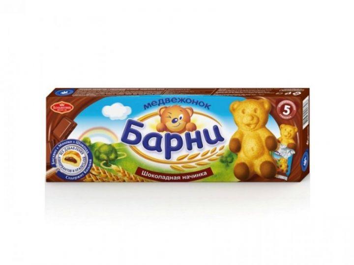 Пирожное Медвежонок Барни бисквит/шоколад 150г