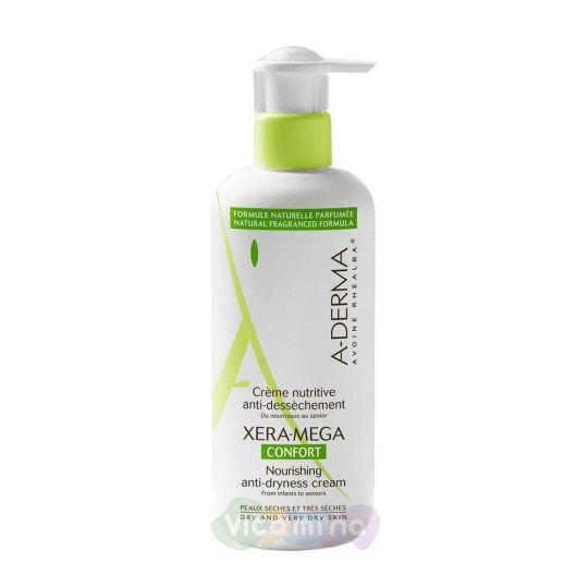A-Derma Xera-Mega Питательный крем комфорт для сухой кожи, 400 мл