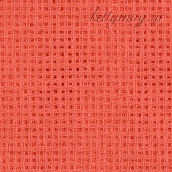 Канва мелкая арт.851 (613/13) (10х60кл) 40х50см цв.коралл