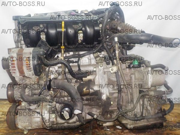 Двигатель в сборе с КПП Nissan MR20-DE - CVT RE0F10A FF 4WD коса+комп без пробега по рф
