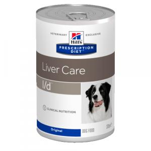 Консервы HILL's DIET L/D  диета для собак всех пород при заболеваниях печени 370гр