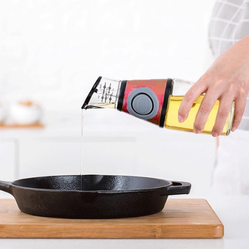 Бутылка-Дозатор Для Растительного Масла Oil Can, 250 Мл, Цвет Оранжевый