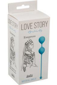 Вагинальные шарики Lola Toys Love Story Empress Waterfall Breeze голубые