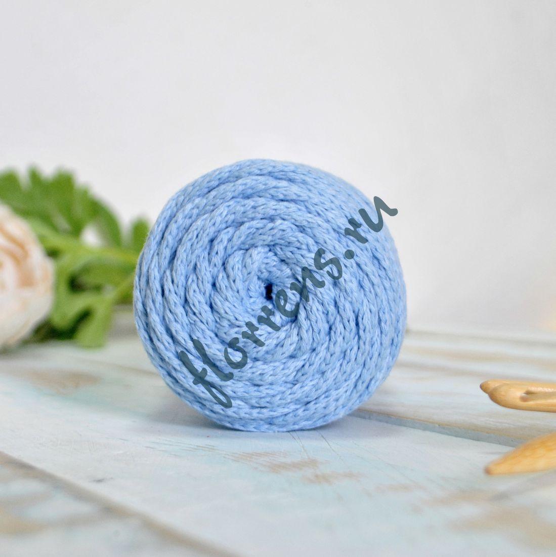 Шнур для вязания / голубой