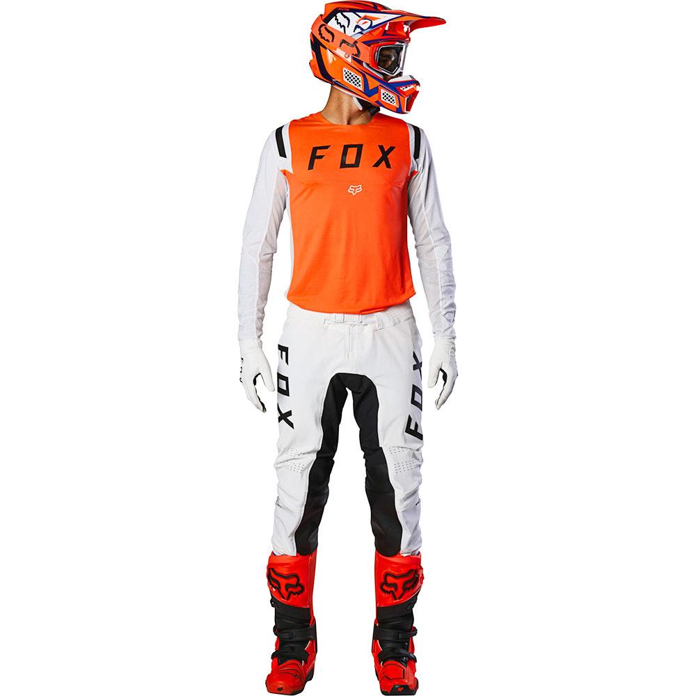 Fox - 2020 Flexair Howk Fluorescent Orange комплект джерси и штаны, оранжевый