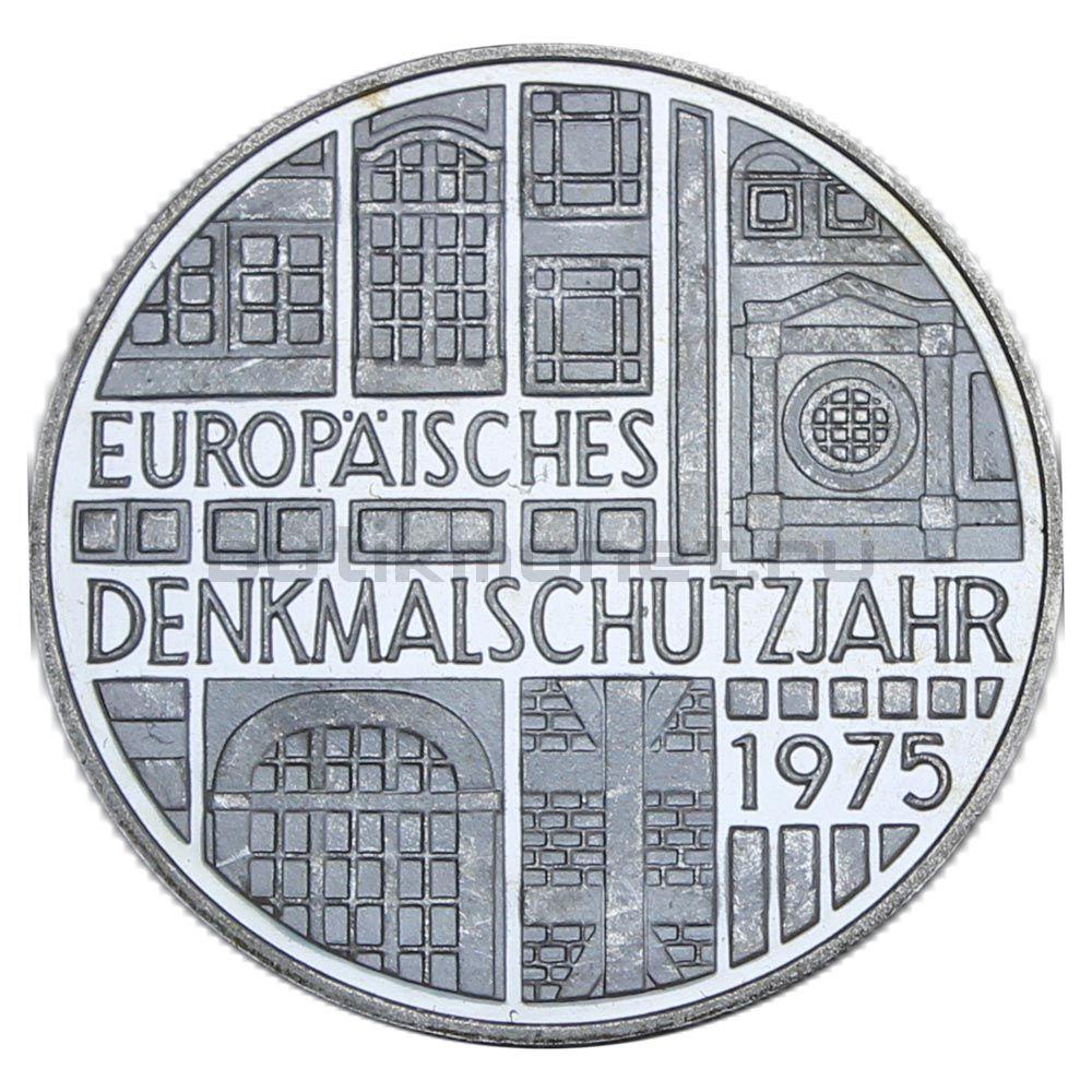5 марок 1975 ФРГ Европейский год охраны памятников