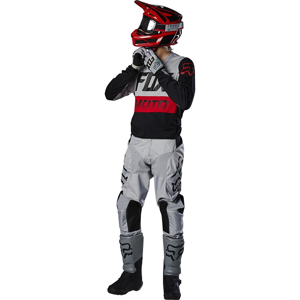 Fox - 2020 180 Fyce Grey комплект джерси и штаны, серые
