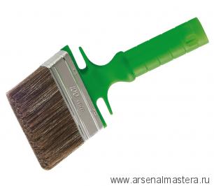 Кисть макловица, смешанная полиэстерная щетина, изогнутая ручка 100/18 мм Osmo 365910