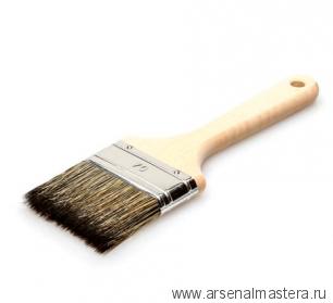 Кисть флейцевая профессиональная из смеси синтетической и натуральной щетины 50/14 мм Osmo 167050
