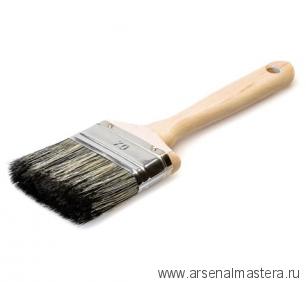 Кисть флейцевая профессиональная из смеси синтетической и натуральной щетины 70/18 мм Osmo 407070