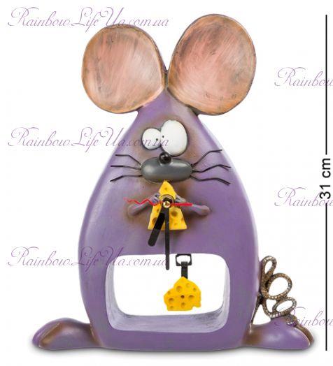 """Часы мышка сырная рапсодия """"W.Stratford"""""""