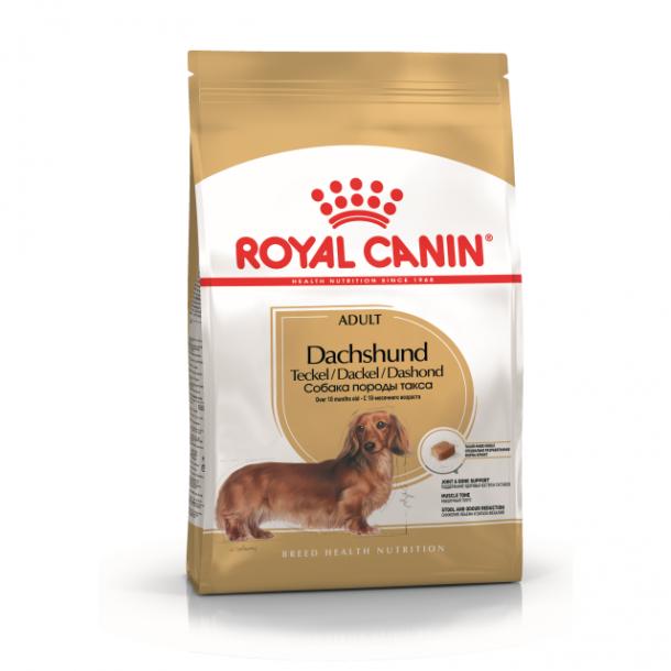 Корм сухой ROYAL CANIN DACHSHUND для взрослых собак породы такса 1.5 кг