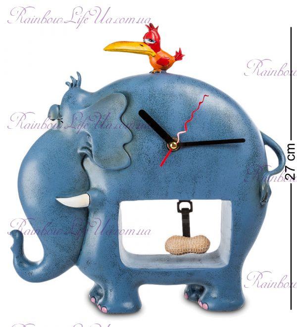 "Часы слон и птичка ""W.Stratford"""