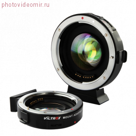 Адаптер Viltrox EF-M2 II Speed Booster для Canon EF на байонет Micro 4/3