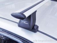 Багажник на крышу Citroen C4 2004-11, Lux, крыловидные дуги