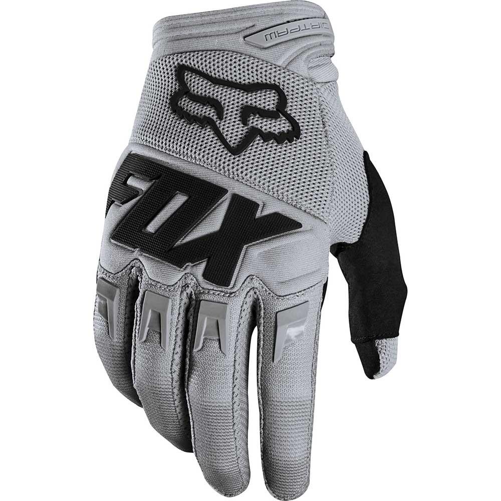 Fox - 2020 Dirtpaw Race Grey перчатки, серые