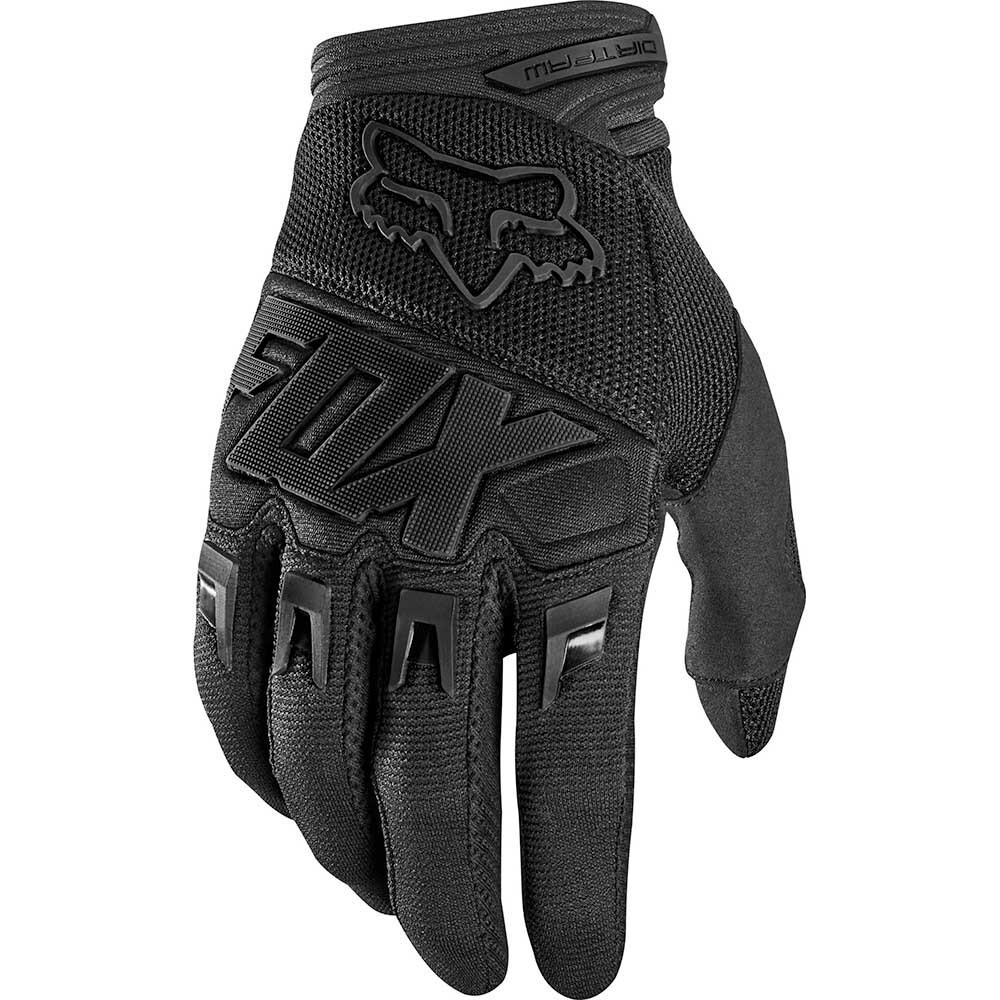 Fox - 2020 Dirtpaw Race Black/Black перчатки, черные